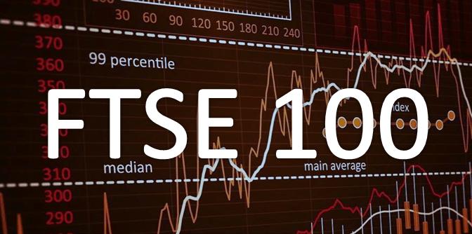 Ganancias de FTSE 100 salta en última jornada de la semana