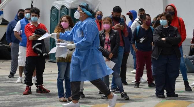 México vuelve a elevar alerta por COVID