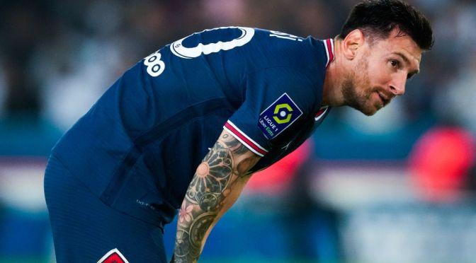 Messi descartado para jugar ante el Montpellier, se espera que se recupere para el partido contra en City