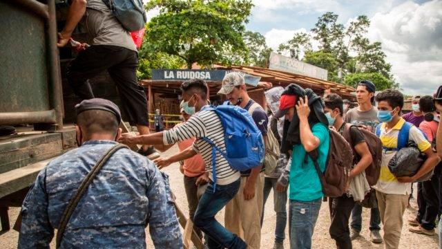 Desplazamiento sin precedentes en Centroamérica y México