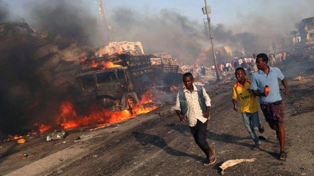 Estalla coche bomba fuera del palacio presidencial somalí