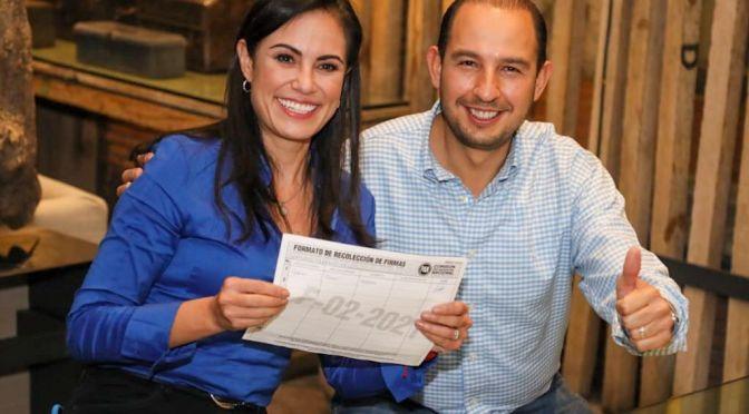 Líder del PAN, Marko Cortés comienza colecta de firmas por el país para reelección