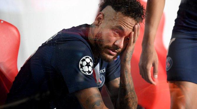 Neymar descartado para juego del PSG contra Leipzig por lesión Muscular