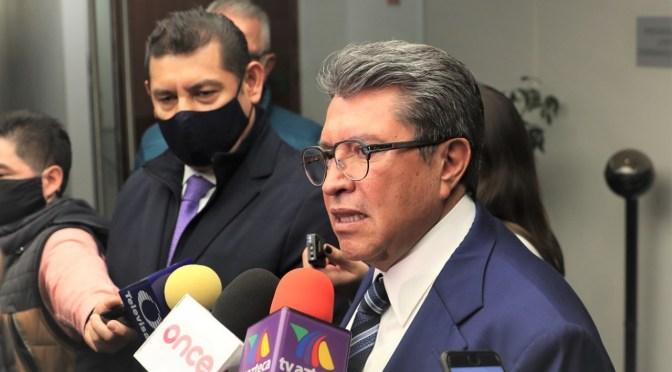 Anuncia Ricardo Monreal debate abierto y voto libre en Ley de Ingresos y Miscelánea Fiscal
