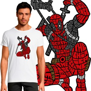 T-shirt Homme Deadpool 2 By KalliGram