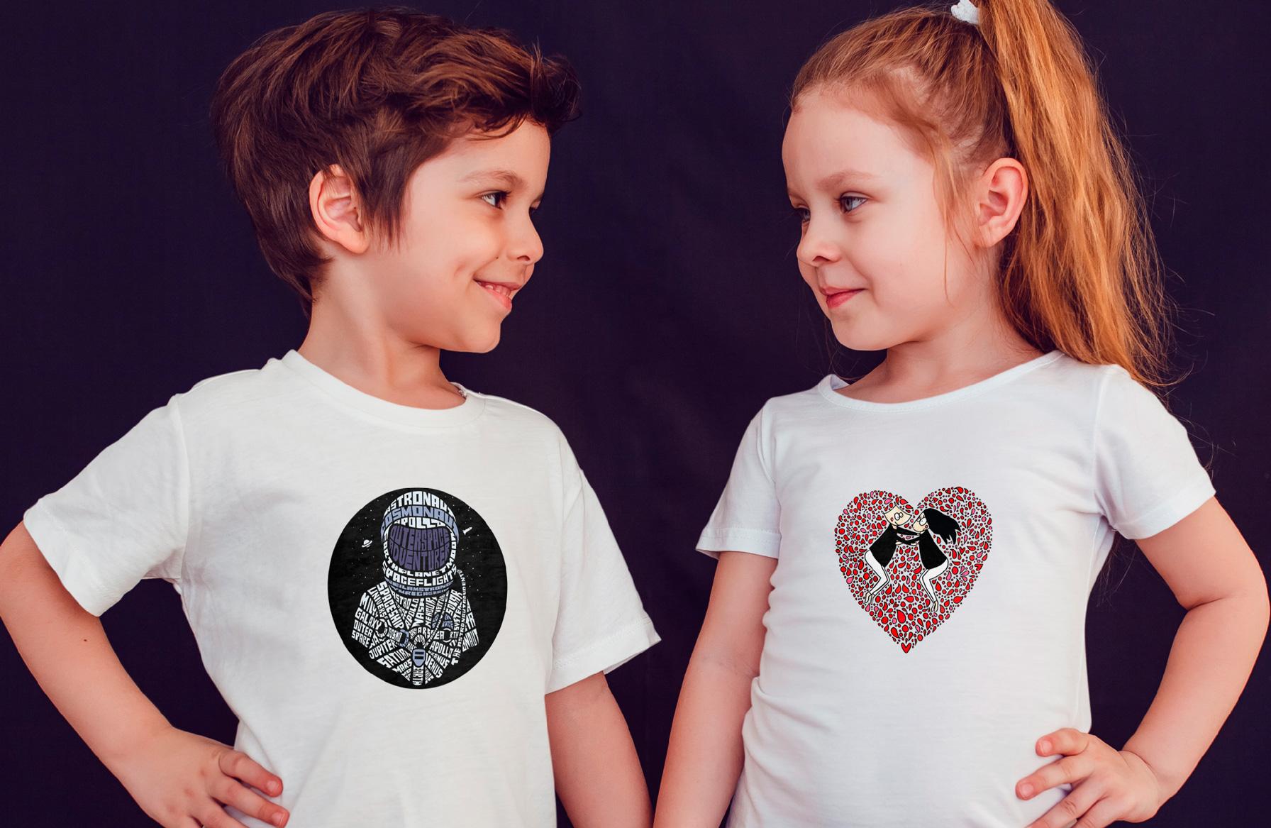 Tee-shirt enfant Fille ou Garçon