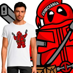 T-shirt Homme Pop Culture Bibendum Deadpool