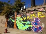 """Awake"" by Rae, Street artist from Brooklyn, NY."