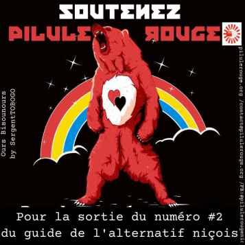 Campagne soutien à la sortie du numéro 2 de Pilule Rouge Nice