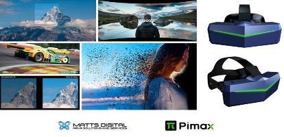 MATTS DIGITAL and Pimax