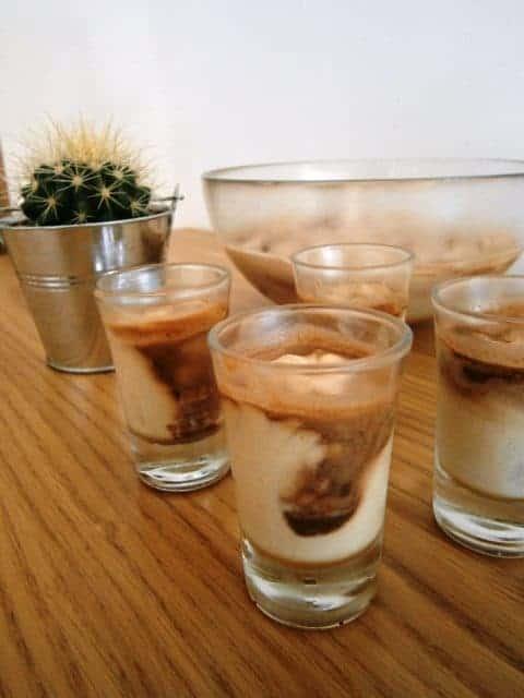 Mousse de Café com Nutella