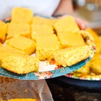 The perfect little morsels of cornbread!