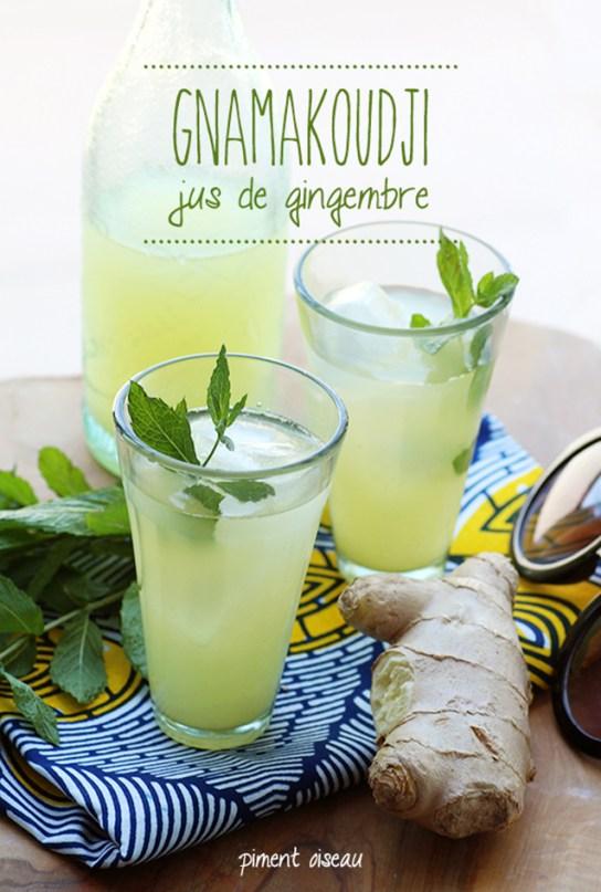 gnamakoudji, jus de gingembre africain- african ginger juice
