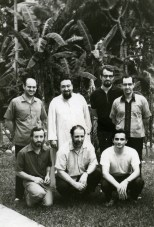 foto di gruppo Pime Filippine 1972.