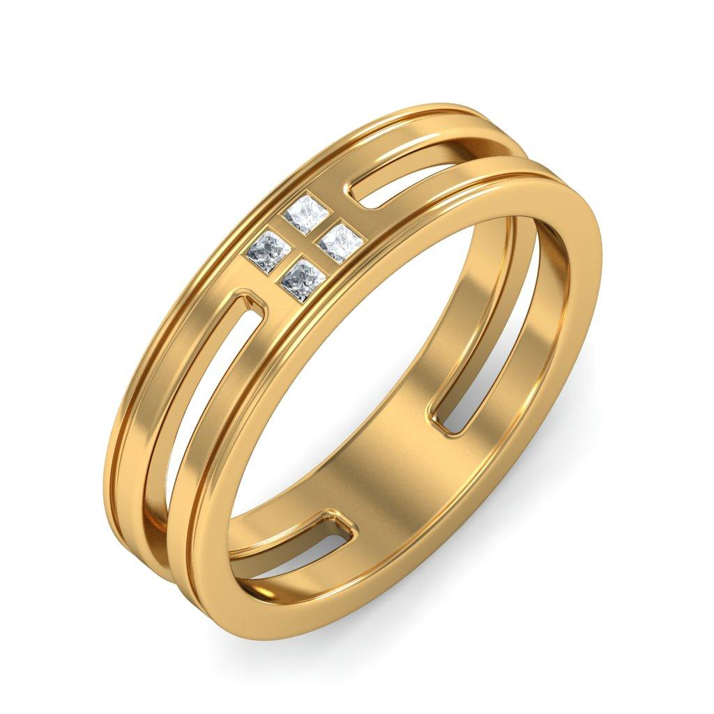 Masculine And Attractive Gold Rings For Men | hitechbloopers