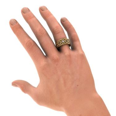 The Niamh Ring for him