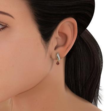 earrings for girls gold