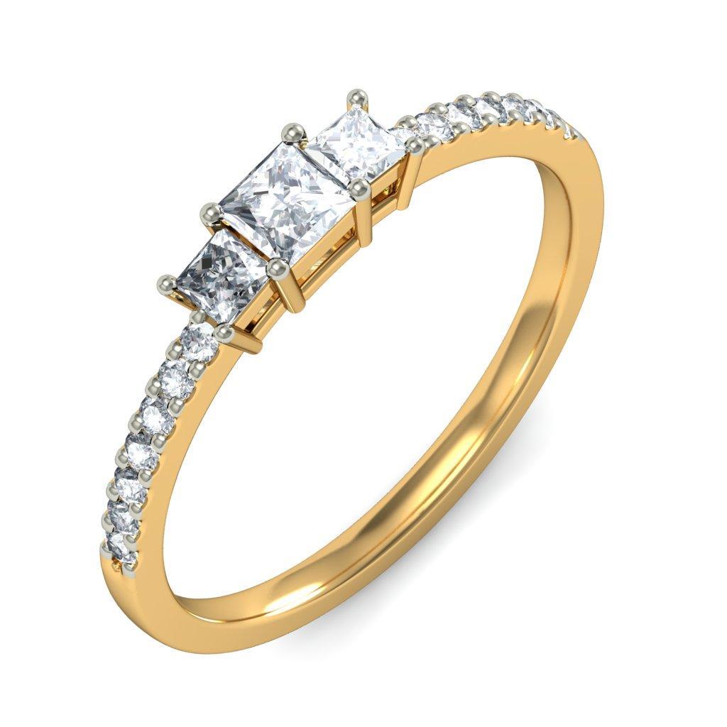 gold ring designs for girls