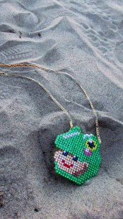 frogbaby in the sand♥