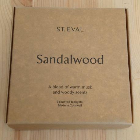 Sandalwood Tea Lights – Boxed