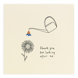 Watering Can Thank You Card