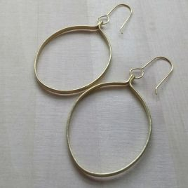 Ruthi Round Earrings
