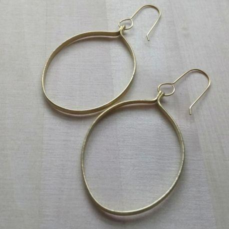 874 Ruthi Round Earrings-M