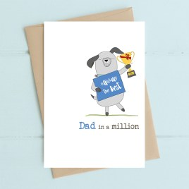 Dad in A Million Card