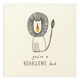 Roarsome Dad Card