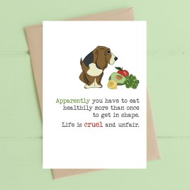 Eating Healthily Card