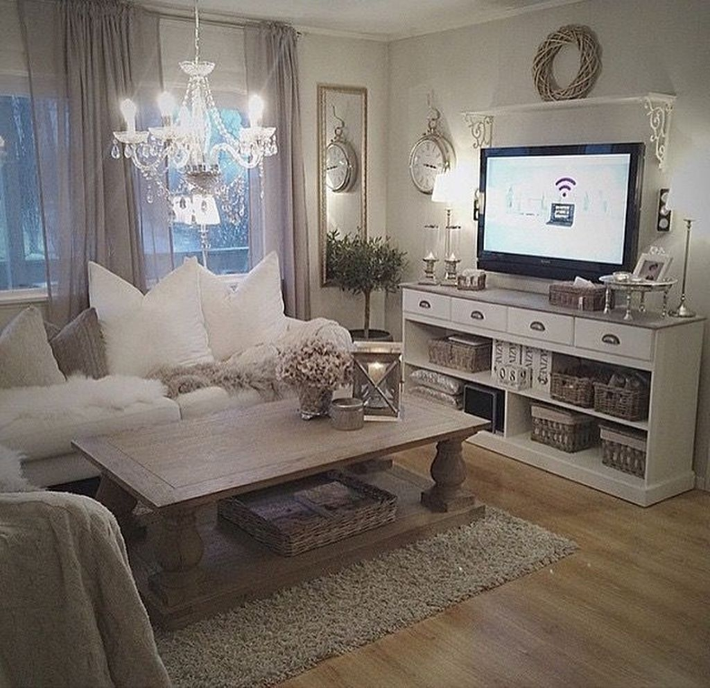 Awesome Modern Rustic Living Room Decor Ideas 08