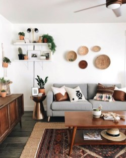 Awesome Modern Rustic Living Room Decor Ideas 19