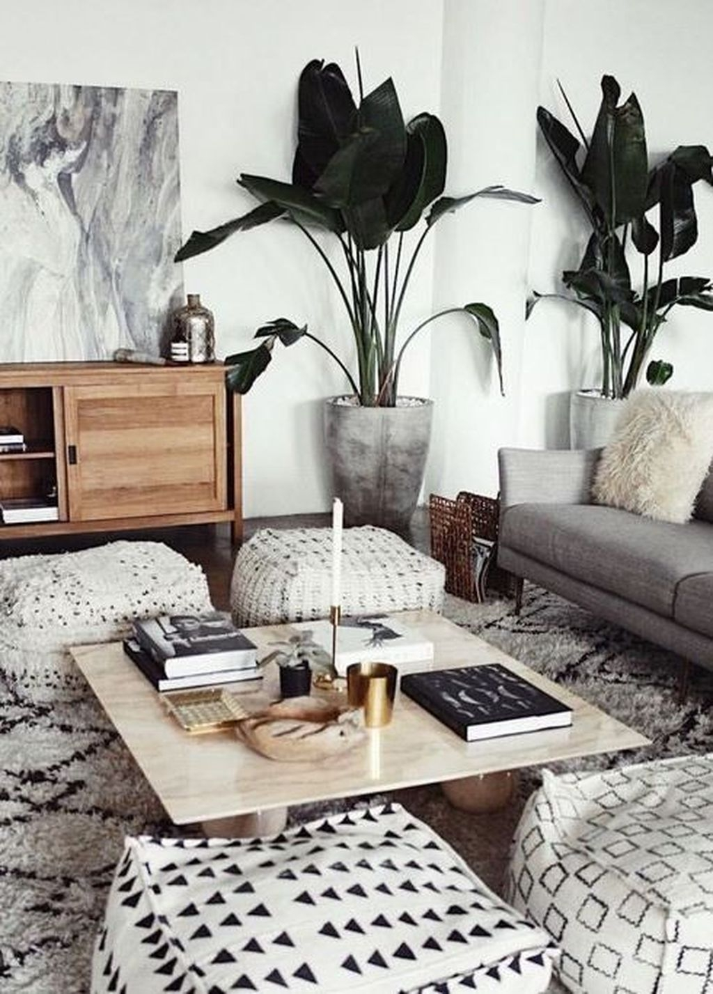Awesome Modern Rustic Living Room Decor Ideas 24