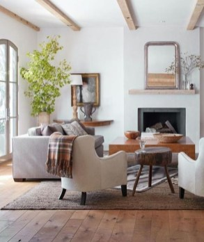 Awesome Modern Rustic Living Room Decor Ideas 26