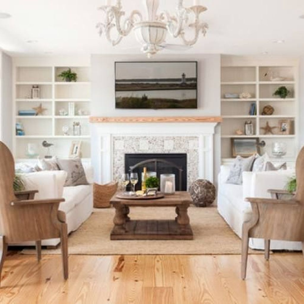 Awesome Modern Rustic Living Room Decor Ideas 29