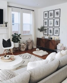 Awesome Modern Rustic Living Room Decor Ideas 30