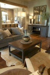 Awesome Modern Rustic Living Room Decor Ideas 37