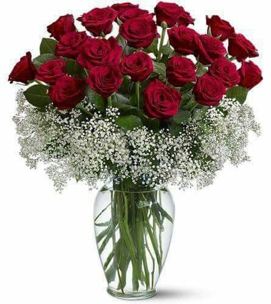Lovely Rose Arrangement Ideas For Valentines Day 49