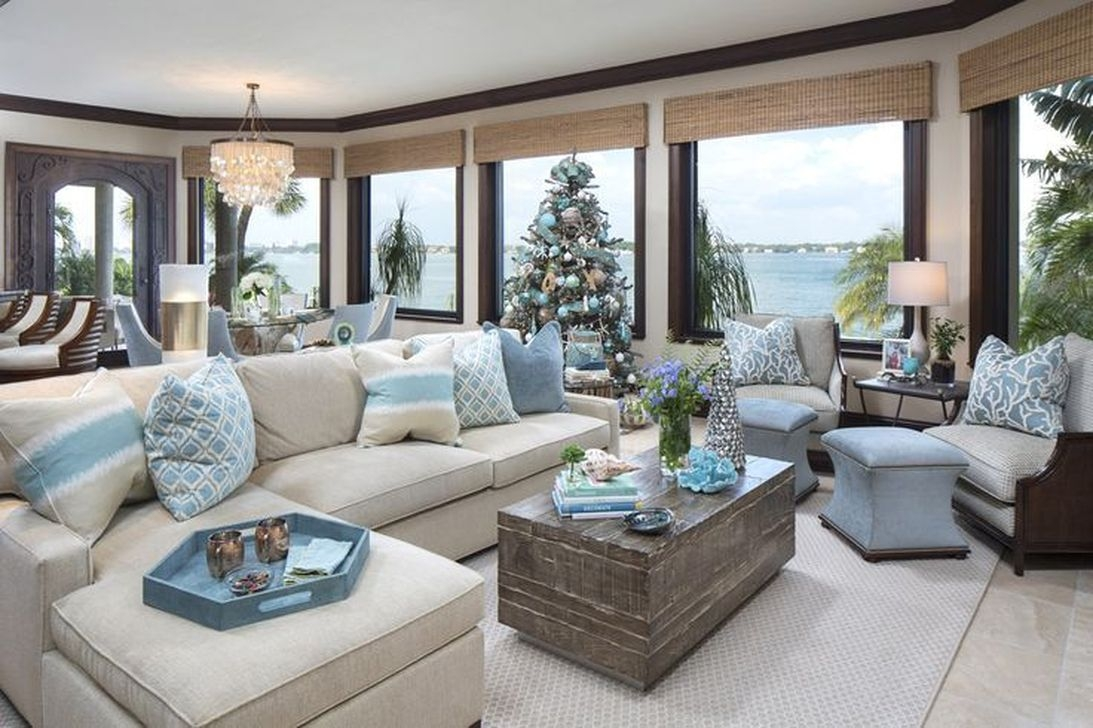 Amazing Coastal Living Room Decoration Ideas You Must Try 22