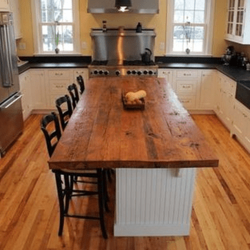 Awesome Rustic Kitchen Island Design Ideas 02