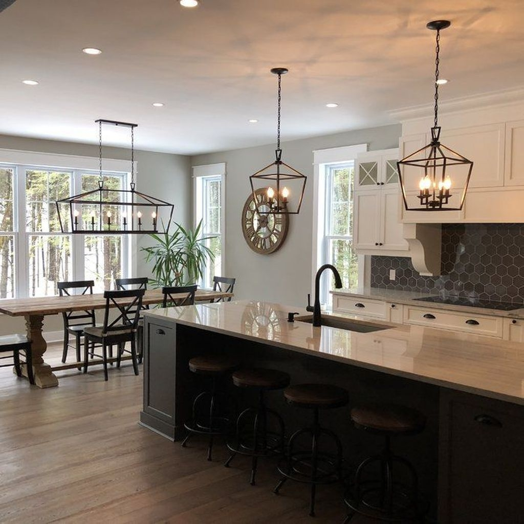 Awesome Rustic Kitchen Island Design Ideas 38