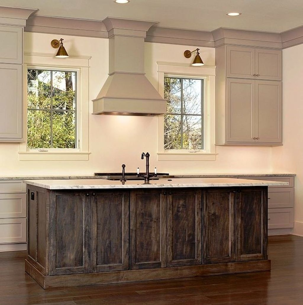 Awesome Rustic Kitchen Island Design Ideas 42