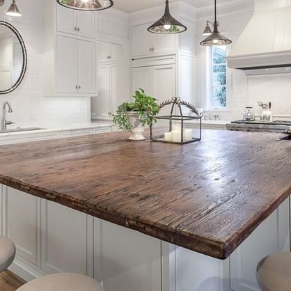 Awesome Rustic Kitchen Island Design Ideas 43