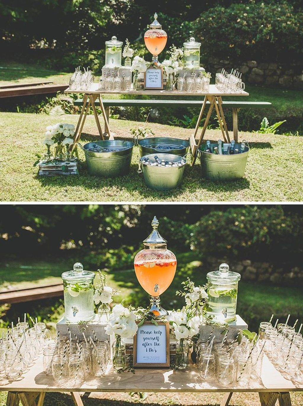 Beautiful Backyard Wedding Decor Ideas To Get A Romantic Impression 25