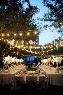 Beautiful Backyard Wedding Decor Ideas To Get A Romantic Impression 27