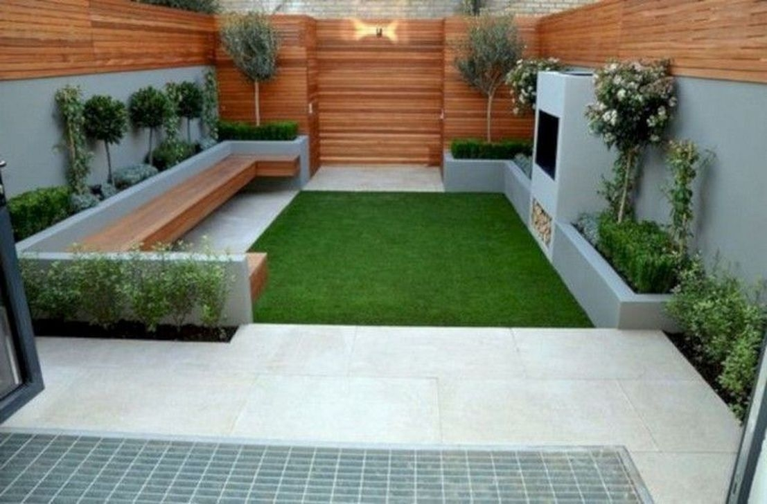 Beautiful Modern Backyard Landscaping Design Ideas 09