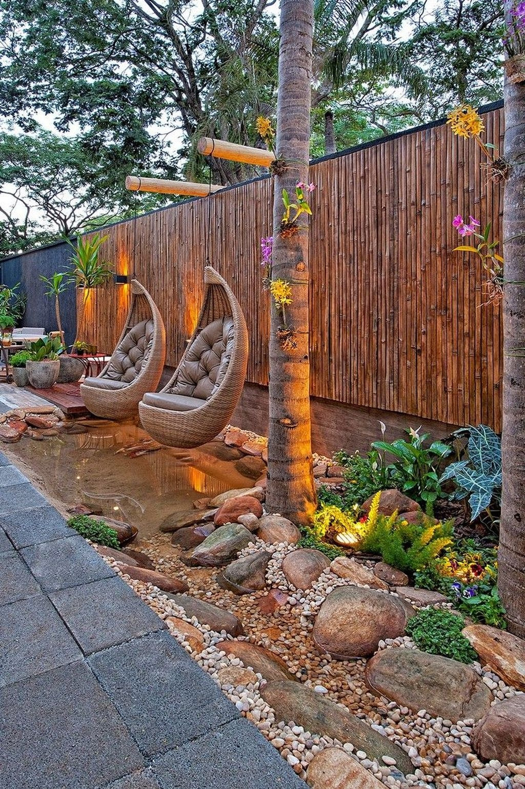 Beautiful Modern Backyard Landscaping Design Ideas 25
