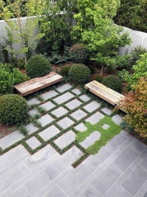 Beautiful Modern Backyard Landscaping Design Ideas 49