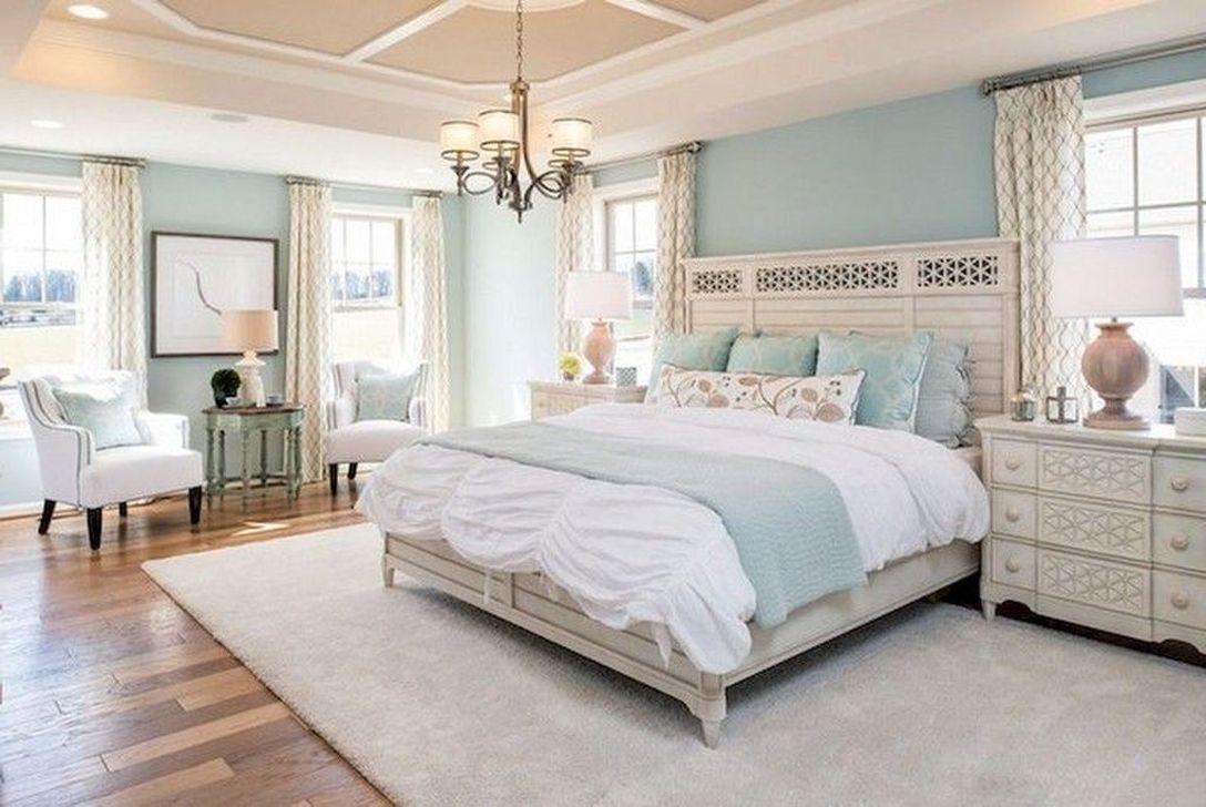 Beautiful Modern Farmhouse Master Bedroom Decoration Ideas 05