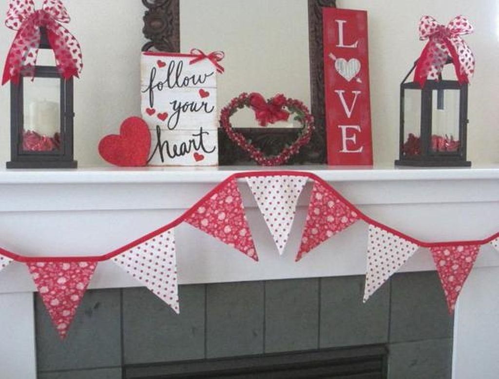Beautiful Valentine Interior Decor Ideas To Make Him Amazed 09
